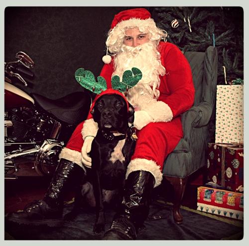 Grimm With Santa
